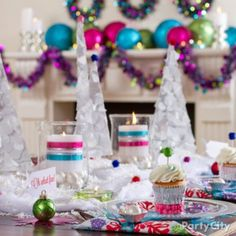 Merry and Bright Christmas Tablescape Ideas - Party City