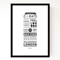 02 – Typography print