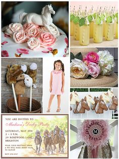 Children'sDerbyParty by finestationery, via Flickr