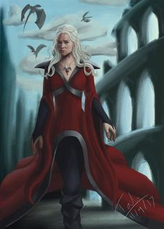 Daenerys Targaryen from the Game of Thrones series by George R R Martin