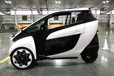 "Toyota's i-Road is their vision for future urban transportation. It's an electric ""personal mobility"" vehicle that's compact, quirky and a bit of fun."