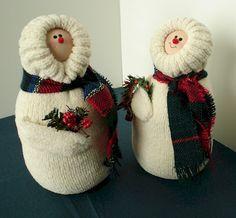 mitten snowman - Bing Images