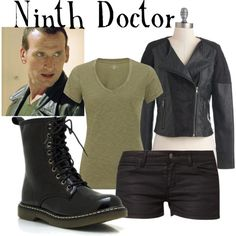 """Ninth Doctor for women (Doctor Who)"" by companionclothes on Polyvore"