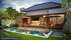 Balinese Backyard's Villa