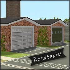 Mod The Sims - Rotatable Garage Doors