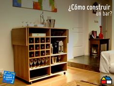 ¿Cómo construir un bar? #Sodimac #Homecenter #DIY #HUM #HágaloUstedMismo