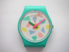 """Swatch Dummy LL104 """"Pink Lolly"""" 1988 watch case OMG how cute is this?"""