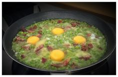 receta guisantes Eggs, Breakfast, Food, Pea Recipes, Legumes, Eating Well, Egg, Meals, Food Items
