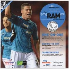 2012/2013 - Derby County FC v Blackburn Rovers FC, Football Programme