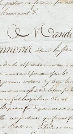 A French letter from 1813