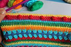 Teil 5 Reihe 8 crochet along - schoenstricken.de