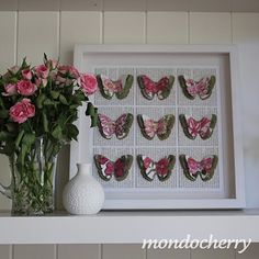 butterflies and flowers...