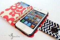 Plus de 10 tutoriels pour coudre une housse d'iphone « Blog de Petit Citron