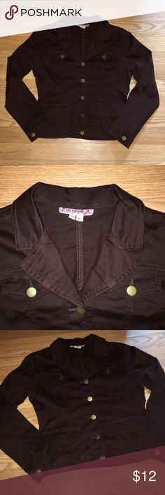 My Michelle Blazer Jacket Size XL, 17' from armpit to armpit 19' length in good condition My Michelle Jackets & Coats
