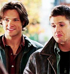[gif]  brothers  :D   #Supernatural 3x08 A Very Supernatural Christmas