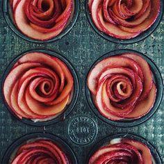Apple rose tarts recipe for @thekitchn