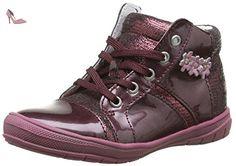 GBB Noelle, Chaussures Lacées Filles, Rouge (36 Vnv Bordo D Pf/2813