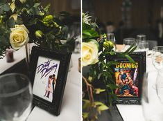 Instead of table numbers, name tables with movies you both love Ahh i love this idea ...