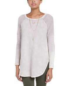 Spotted this Free People Bed of Roses Champagne Floral Textured Pullover on Rue La La. Shop (quickly!).