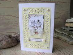 Owl Wedding Card Mr and Mrs Anniversary Card Pale by 4SeasonCards, €5.00