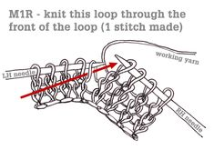 Make 1 or m1 is a generic way to say 'create one new stitch'. There are many different methods that you can choose from, and you should pick the one you prefer. Where a specific technique is list...