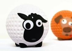 Sheep #creative #golf #ball