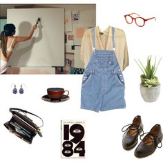 Love is to die by louisesuxx on Polyvore featuring Vince, Dr. Martens, Accessorize, Spitfire, Ethan Allen, Mikasa and ORWELL