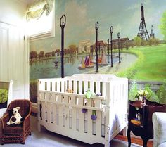 Destination: Paris ~ Modern Nursery Trend Watch: Travel Inspired | Disney Baby