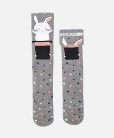 Rabbit Top Hat Socks #oysho #socks