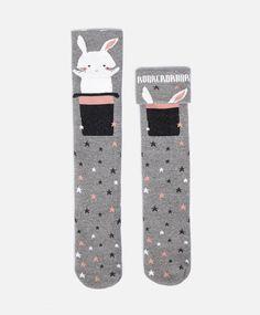 Rabbit Top Hat Socks #oysho #socks
