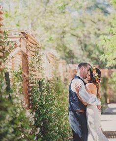 Temecula Creek Inn wedding/bohemian bride/flower crown sevenstemsdesign.com
