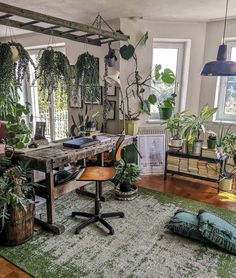 Bohemian Interior Design, Home Interior Design, Interior Plants, Bohemian House, Bohemian Decor, Photo Room, Cool Rooms, Living Room Interior, Decoration