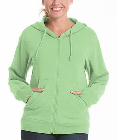 Take a look at this Pistachio Zip-Up Fleece Hoodie by lur® on #zulily today!  http://www.zulily.com/p/pistachio-zip-up-fleece-hoodie-62806-5065790.html?search_pos=10&search_page=38&fromSearch=true&search_ref=image
