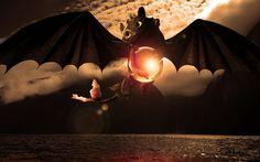 278016  Fond d'écran hd Train your Dragon Croque Mou La nuit