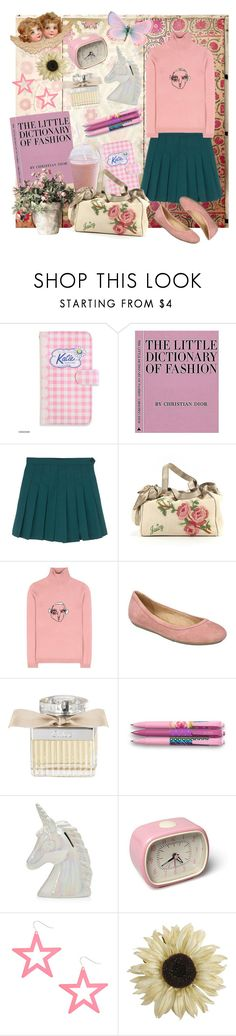 """beauty is everywhere"" by cherubim ❤ liked on Polyvore featuring Juicy Couture, Shrimps, Naturalizer, Chloé, Vera Bradley, Pier 1 Imports, juicycouture and chloe"