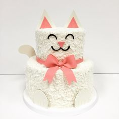 cat cake @jkarseneau I Know luke loves cats :)