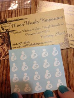 Review: Moon Works Emporium Nail Decals with Giveaway