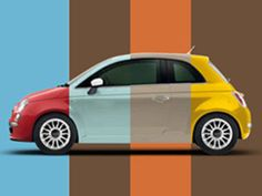 With every pod there is a fiat 500 to tow it - which colour will the next pod be ?????