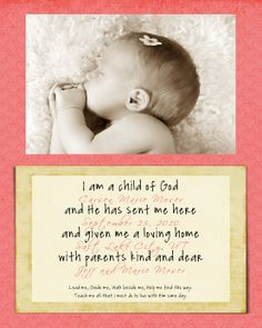 I especially love the wording on this one and it could be easily adapted for the 2 babies.