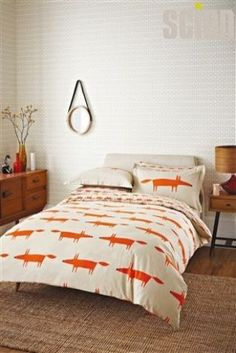 Scion Mr Fox Bed Set from Next