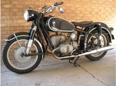 1968 BMW R60/2 with Steib Sidecar. Touring model with ...