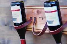 My Cedar and Leather Wine Rack Makes Me Sophisticated