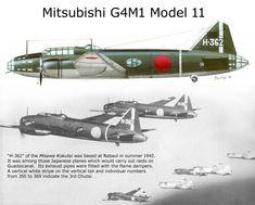 Mitsubishi G4M1 Model 11