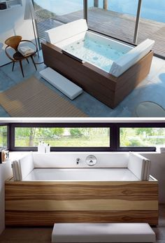 #Hydromassage mini pool #spa SUNDECK by @Duravit Toilets Italia | #design EOOS