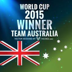 Vector Free Download, Free Vector Graphics, Vector Design, World Cup, Australia, Image, World Cup Fixtures