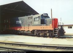 RailPictures.Net Photo: ETRY 7735 East Tennessee Railway EMD GP10 at Meridian, Mississippi by Jeff Van Cleve