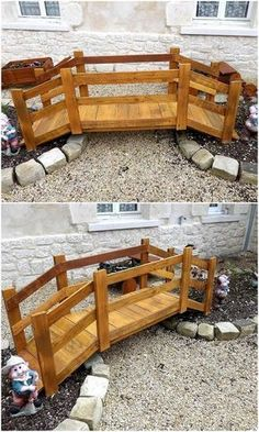 35 Best Whimsical Garden Ideas For Inspire You – Pflanzideen Backyard Projects, Diy Pallet Projects, Outdoor Projects, Woodworking Projects, Pallet Ideas, Woodworking Plans, Pallets Garden, Wood Pallets, Pallet Wood