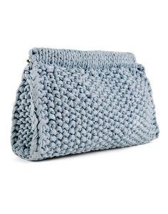 Hey Now Clutch | Knit it | woolandthegang.com
