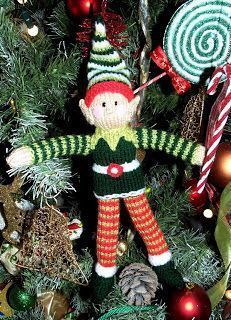 Dinky the elf! As promised here is my Knitting pattern for my elf! - www.lianamarcel.co.uk You will need at least 50g balls of dou...