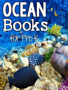 Ocean Books for Pre-K